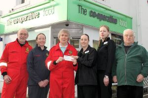 Co-Op Helps Local Lifesavers 1