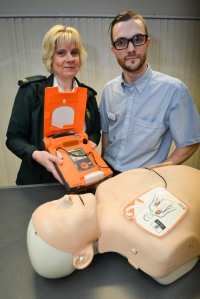 Lifesaving defibrillators installed at Coverage Care Homes 1