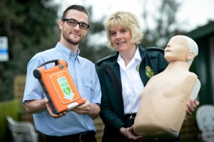 Lifesaving defibrillators installed at Coverage Care Homes 2