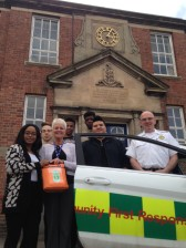 Defibrillator installed to help boarding school students in Shropshire 1