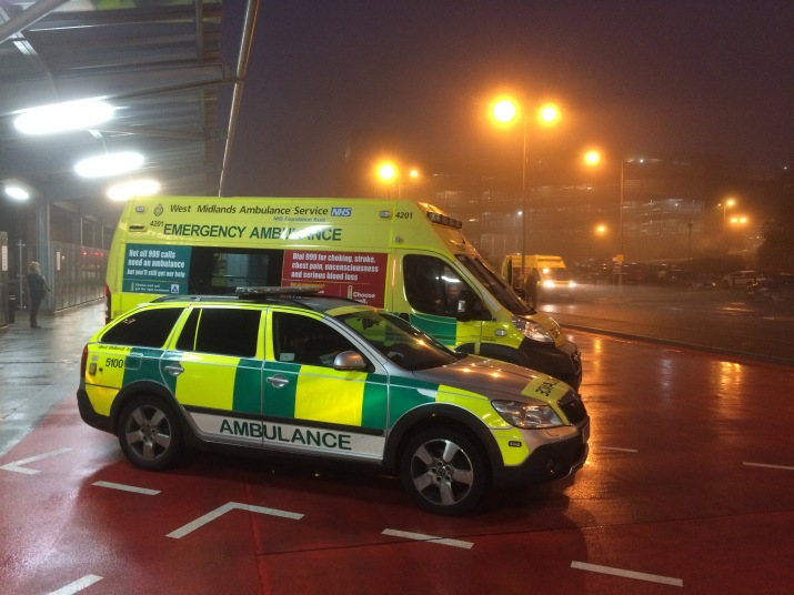 Foggy - Amb + RRV at QEHB