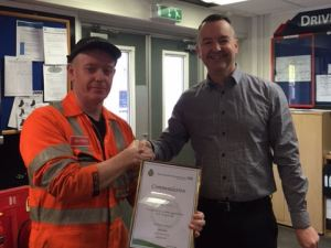 Train maintenance trio commended for saving a life 4
