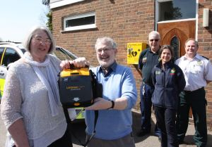 Defibrillator heaven in Balsall Common (1)