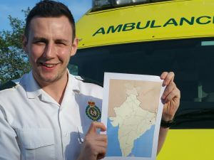 Birmingham Paramedic Set to Teach First Aid to Children in India1