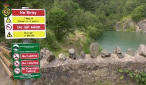 Gullet Quarry - water safety