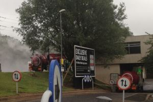 Chemical Leak at Frankley Services (20-07-15)