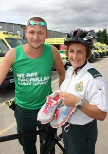 Willenhall Paramedics to take on London Triathlon
