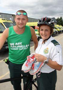 Willenhall Paramedics to take on London Triathlon