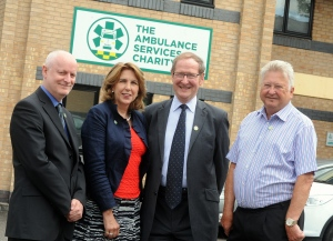 WMAS Chairman supports Ambulance Services Charity