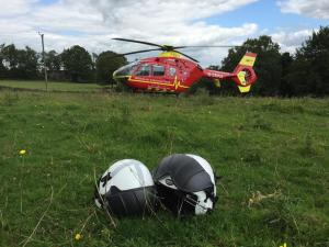 Woman falls from horse near the Ramblers retreat