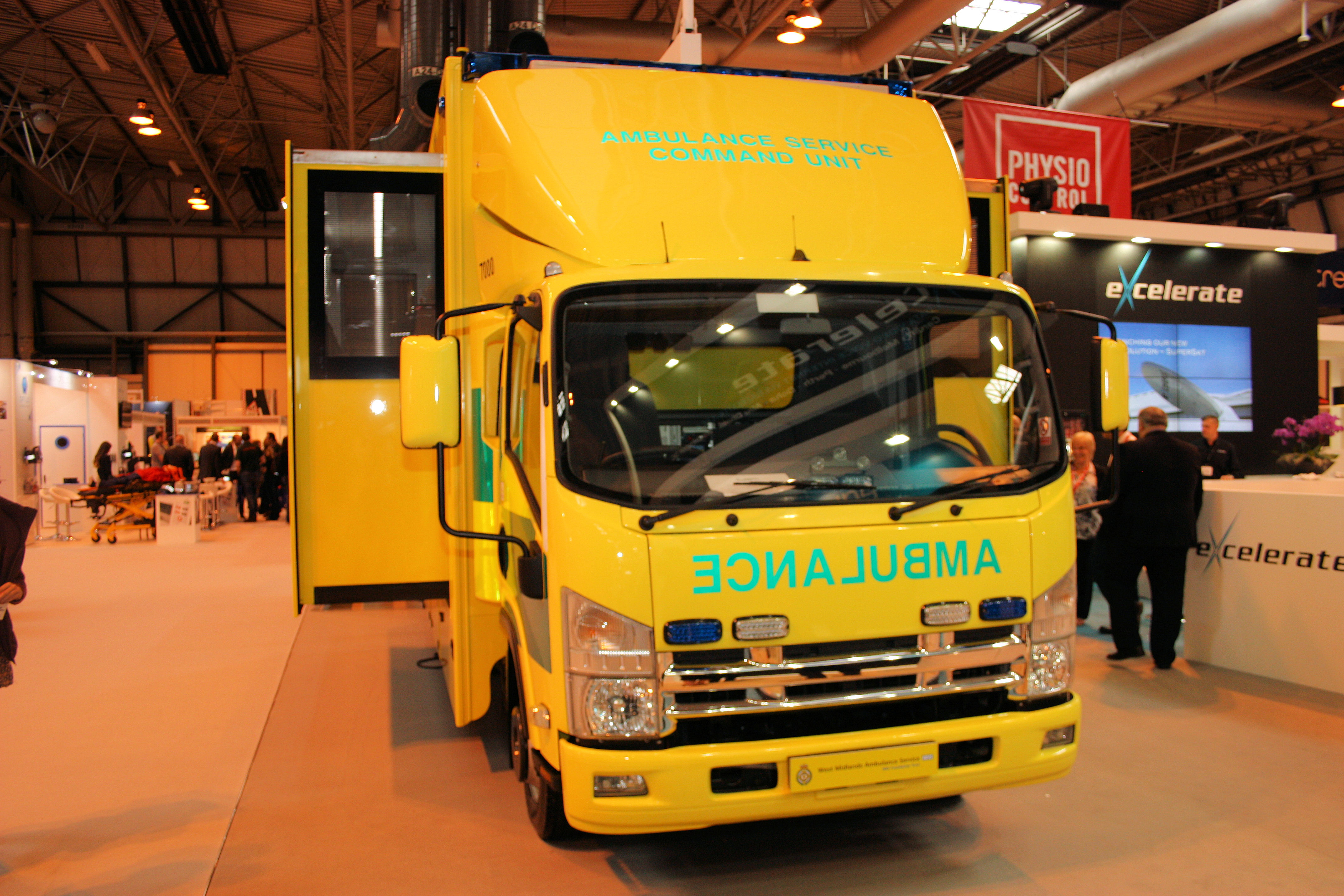Increase Support Unit Level Ambulance Command Unit