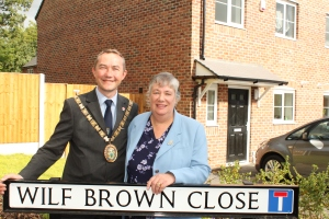 Street is named after former Leading Ambulanceman Wilf Brown 1