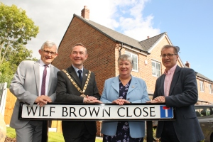Street is named after former Leading Ambulanceman Wilf Brown 4