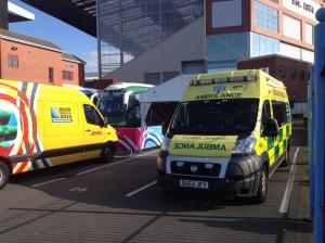 Super Saturday - Villa Park Ambulance