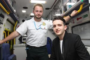 Car Crash Survivor Meets Paramedic Who Helped Save His Life 1