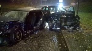 Two car crash in Telford 27-10-15