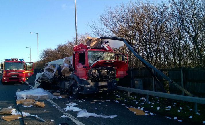 M6 lorries Dec 23 2015