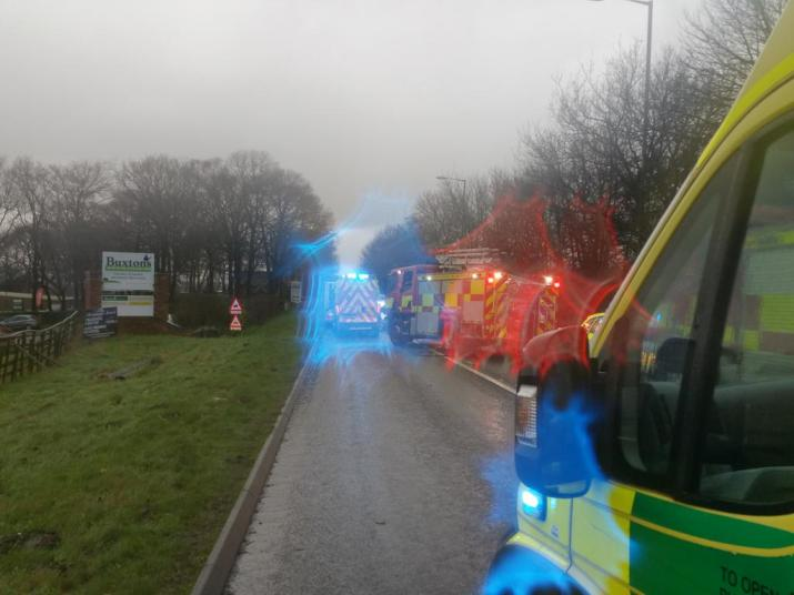 TWO CARS AND A BUS IN COLLISION IN PENKRIDGE.jpg