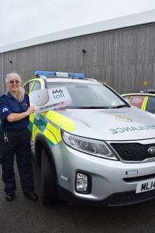 Ann Peters of Brewood CFR
