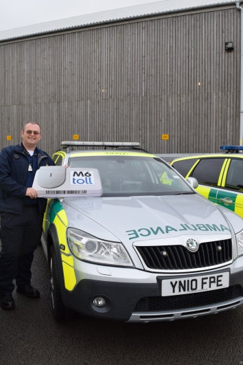 Mark Walker of Trent Valley CFR