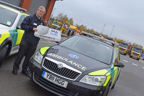 Mike Tym of Penkridge and District CFR