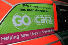 Taxi firm hailed for donation 1 Go carz