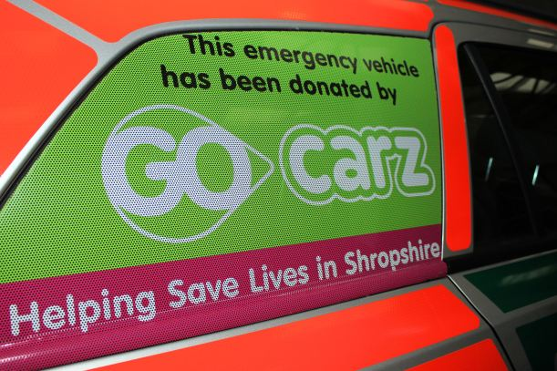 Taxi firm hailed for donation 1 Go carz