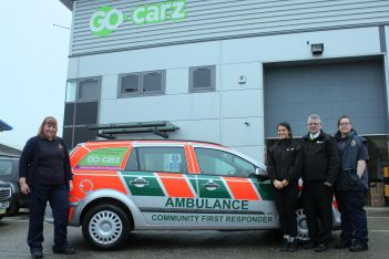 Taxi firm hailed for donation 2 Go carz