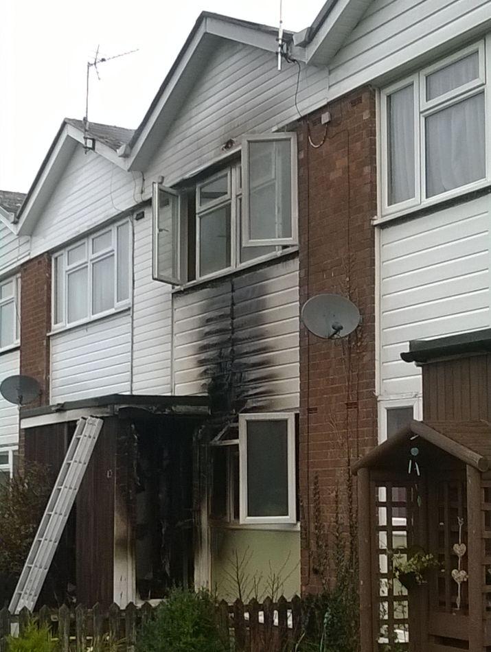 Harlescott Fire (21-02-16)