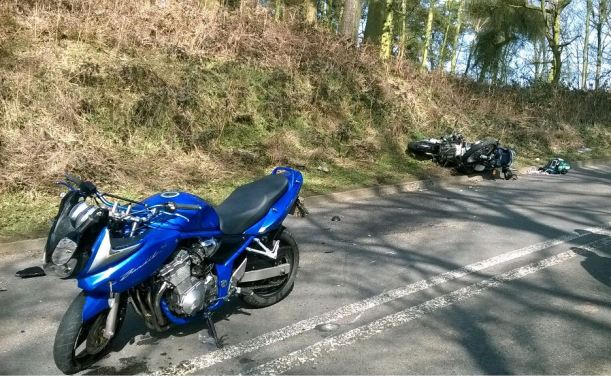 TWO MOTORCYCLISTS TO MAJOR TRAUMA CENTRE