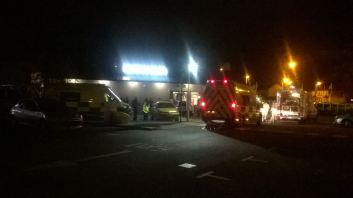 TWELVE PEOPLE TREATED AFTER CANISTER INCIDENT IN MCDONALDS 1