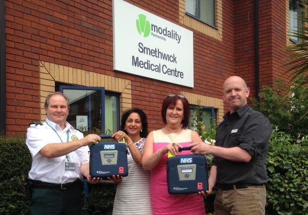 GP surgeries in Birmingham and Sandwell set to get defib savvy.jpg