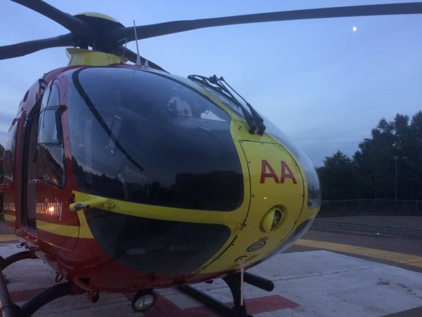 hmed09 on helipad at RSUH