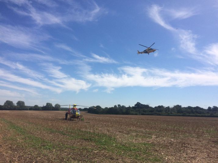 Two airlifted from Tamworth Collision