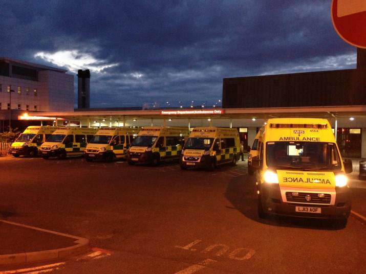 hospital-russells-hall-evening