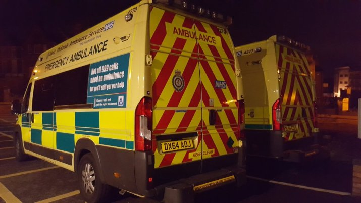 two-ambulances-at-night