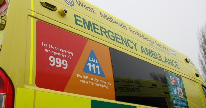 Should I ring 999 or 111? – West Midlands Ambulance