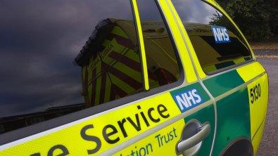 Ambulane reflected in RRV