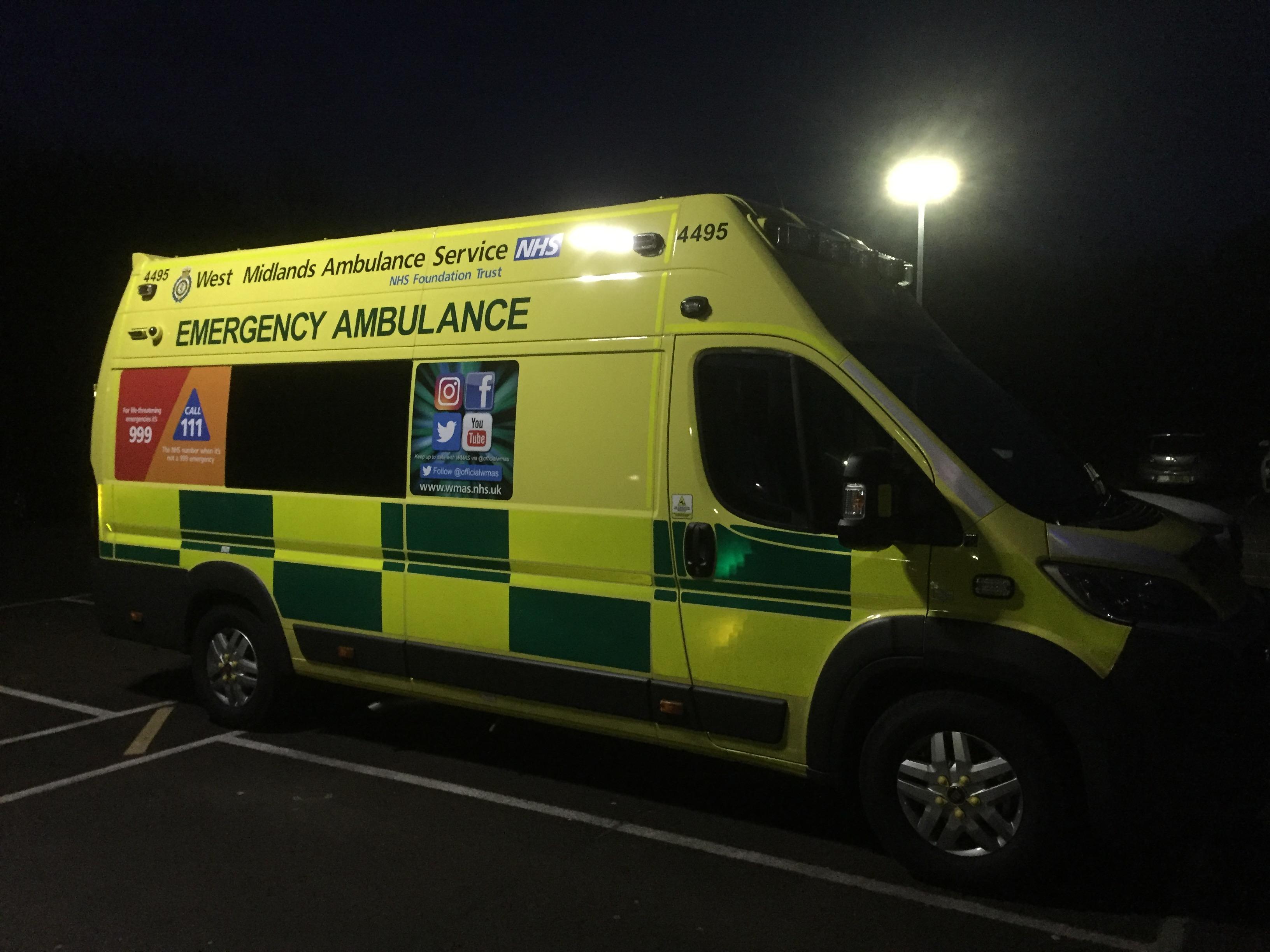 May 2017 West Midlands Ambulance Service Nhs Foundation
