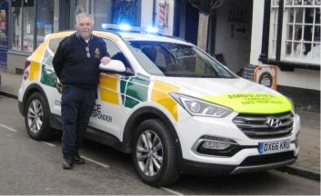 Eccleshall CFR Group Coordinator Martin Watson