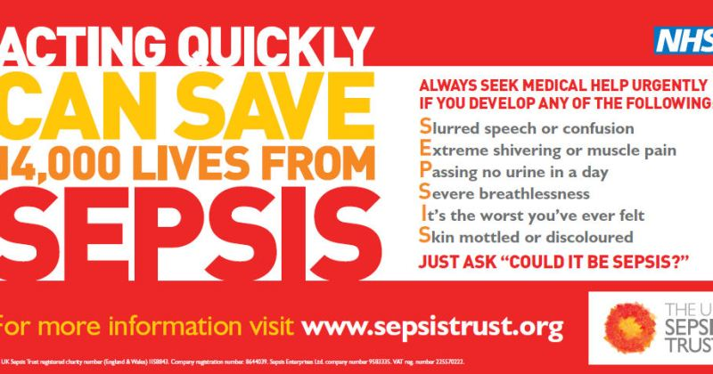 Could it be Sepsis? – West Midlands Ambulance Service