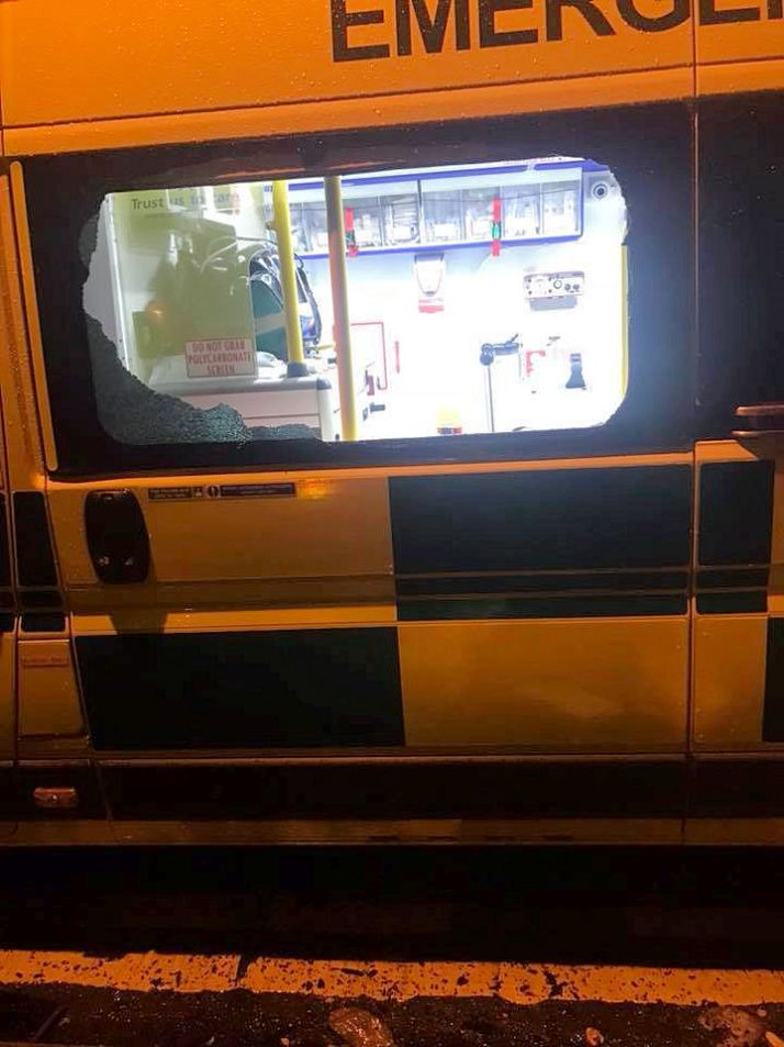 Ambulance broken into & kit stolen - can you help 1