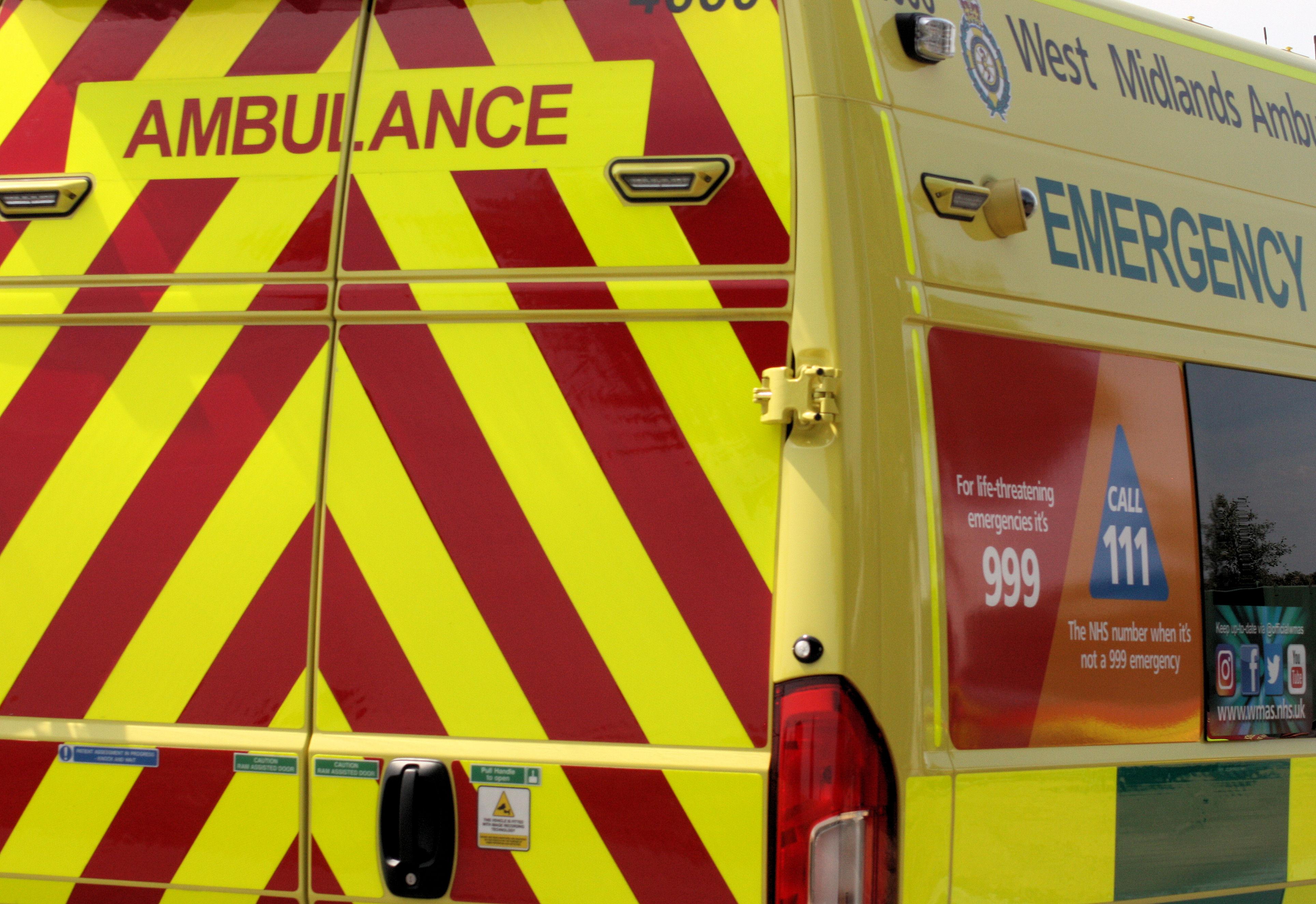 Ambulance rear 2018