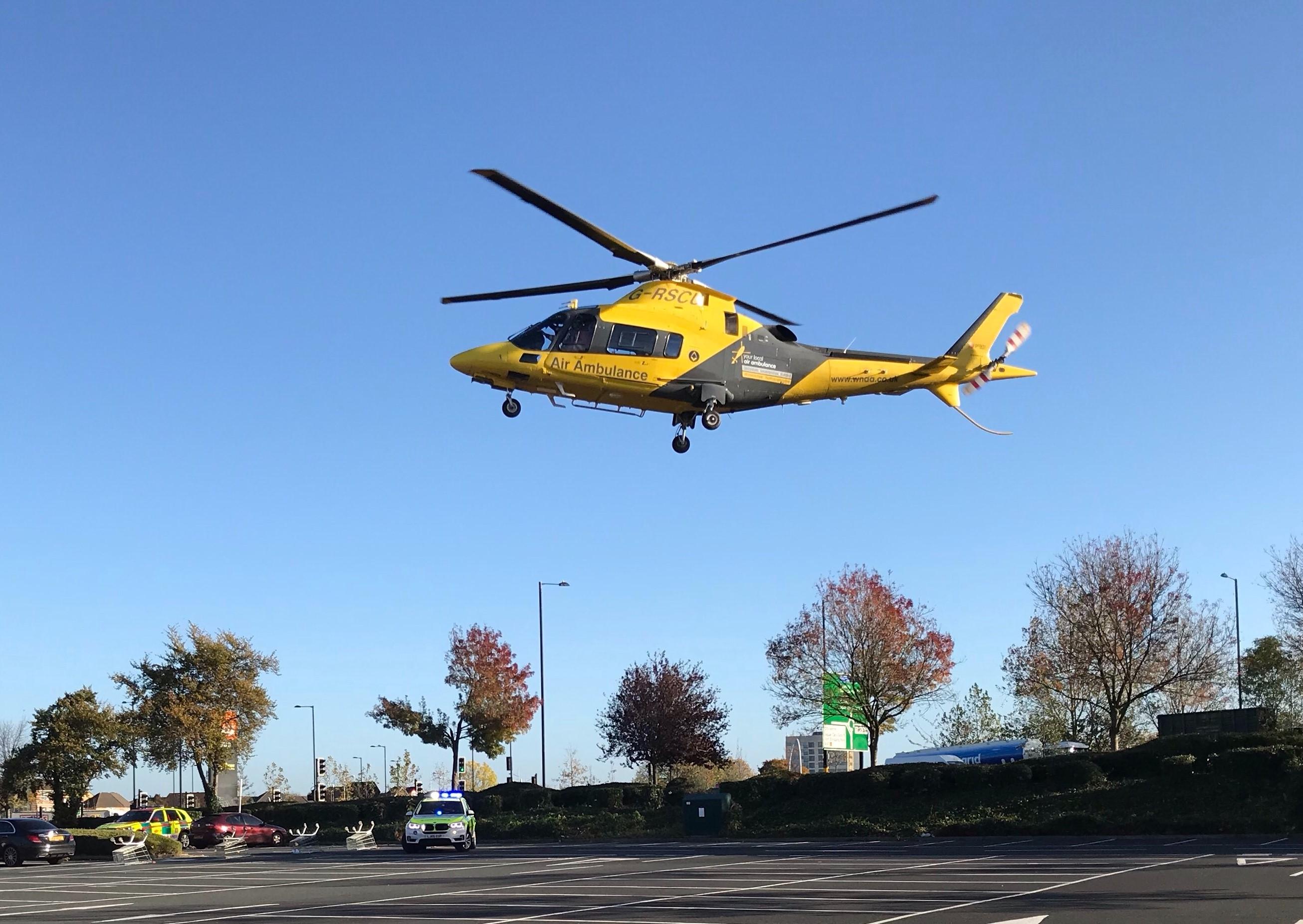 HMED 53 - landing