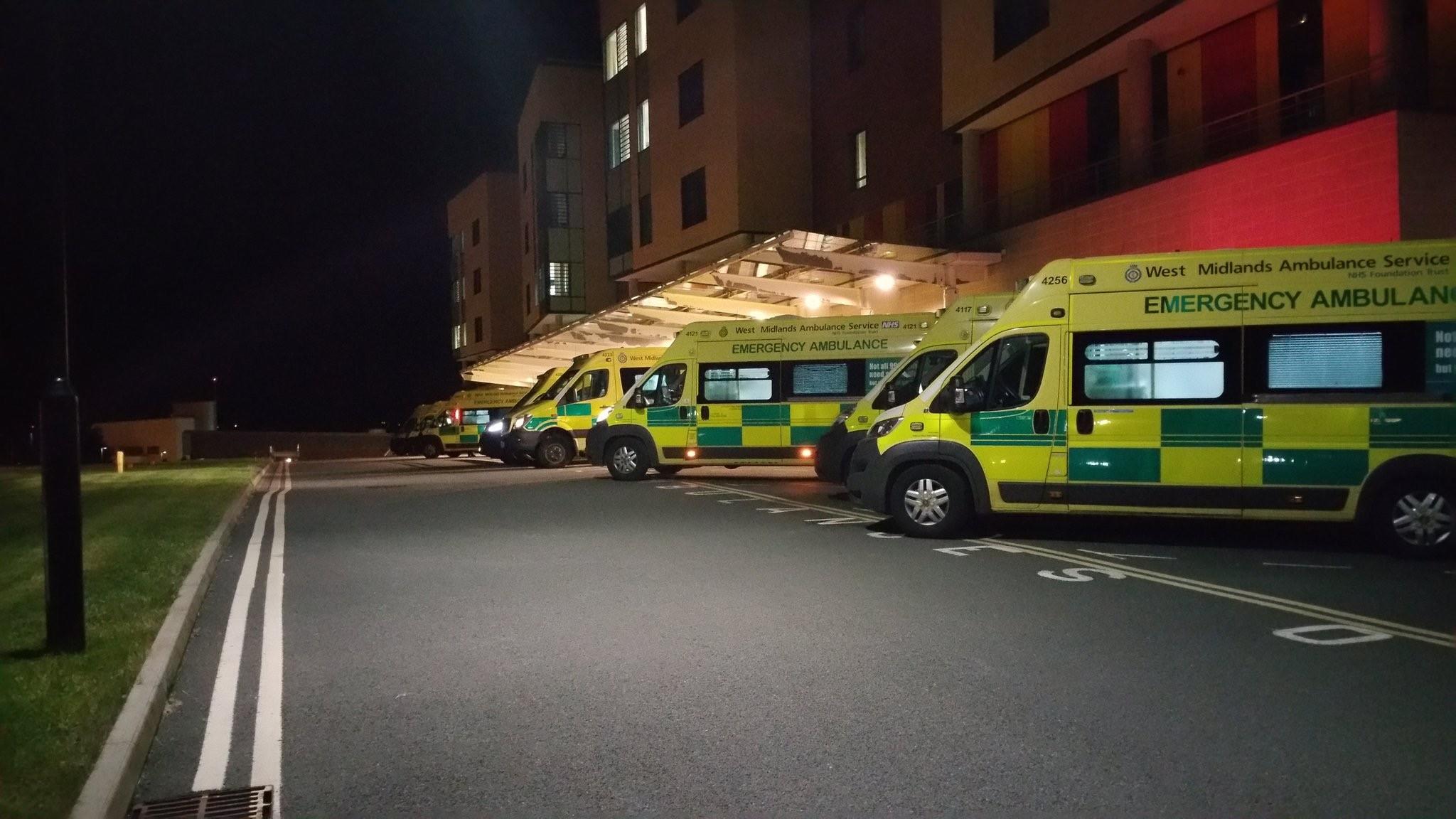 Hospital - RSUH at night