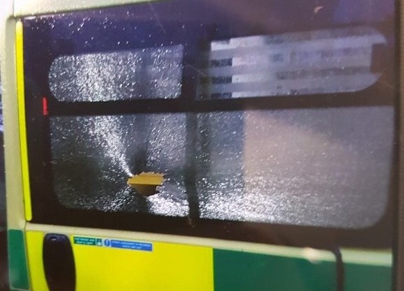 Ambulance crew chased and vehicle damaged – West Midlands