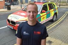 Critical Care Paramedic Jack Lewis