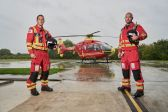 Critical Care Paramedics Julian Spiers, Grant Salsby